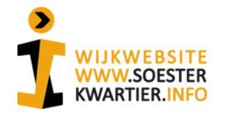 Wijkwebsite Soesterkwartier