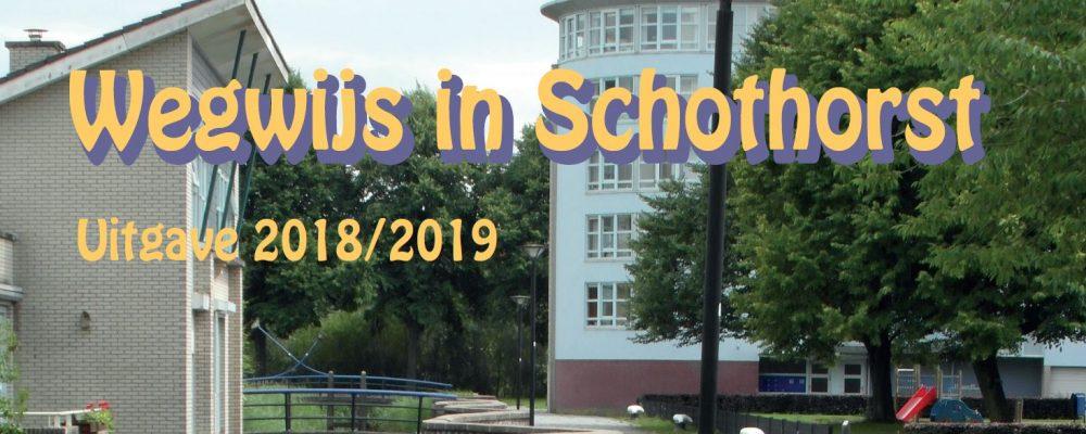 'Wegwijs in Schothorst' 2018-2019 gepubliceerd