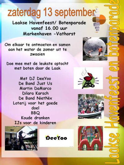 Laakse Havenfeest en Botenparade
